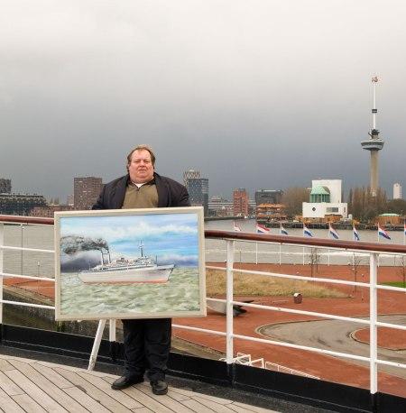 Schilder op SS Rotterdam_Euromast